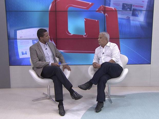 Paulo Bartolomeu, candidato à Prefeitura de Jaboatão (Foto: Reprodução / TV Globo)