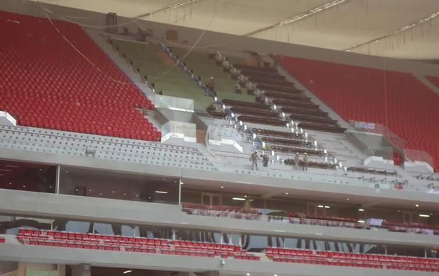 estádio mané garrincha (Foto: Fabrício Marques)