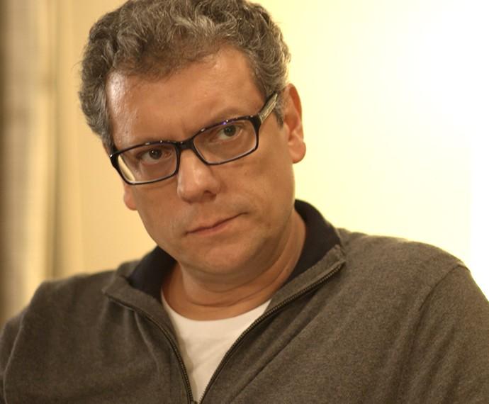 Miguel é hostil com Ciça (Foto: TV Globo)