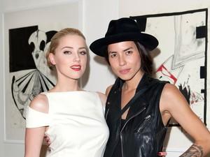 Amber Heard e Tasya Van Ree (Foto: Getty Images)