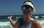 Laura Keller revela medidas em desafio de verão