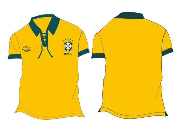 CBF vai vender camisas retrô de 58 38fd0beaaf823
