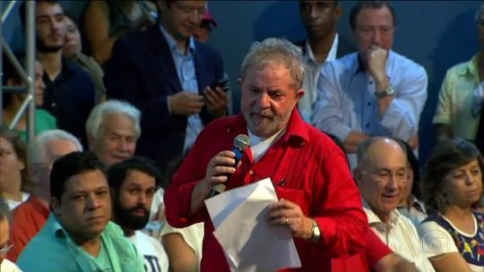 PF indicia Lula por suposta vantagem em compra de terreno e apartamento