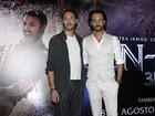 Rodrigo Santoro e Jack Huston falam sobre os bastidores do filme 'Ben-Hur'