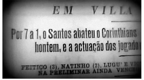 Santos goleou o Corinthians por 7 a 1 em 1932 (Foto: Reprodução - site Acervo Histórico do Santos FC)
