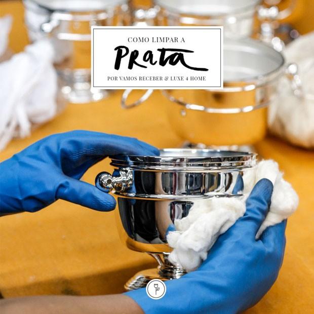 Como limpar a prata  (Foto: Julio Acevedo/ Karen Hofstetter)