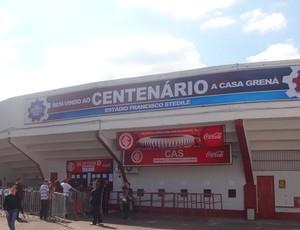 Estádio Centenário estará lotado para inter x Juventude no domingo (Foto: Hector Werlang/Globoesporte.com)