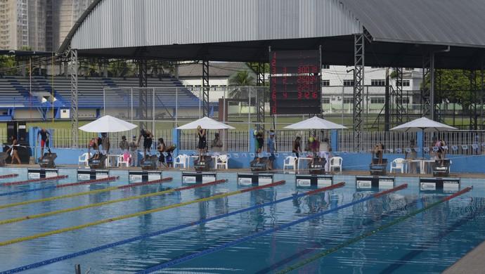 Sprint de Natação quer incentivar o retorno de atletas e competições no AP (Foto: Jonhwene Silva/GE-AP)