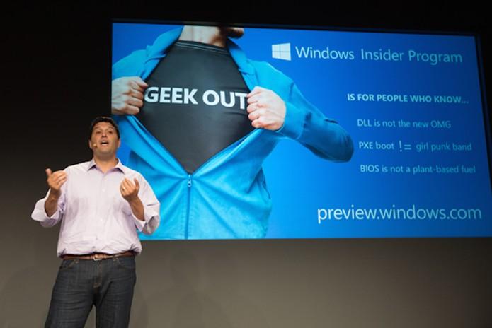 Windows Insider Program começa em breve, para testar builds do Windows 10  (Foto: divulgação/Microsoft)