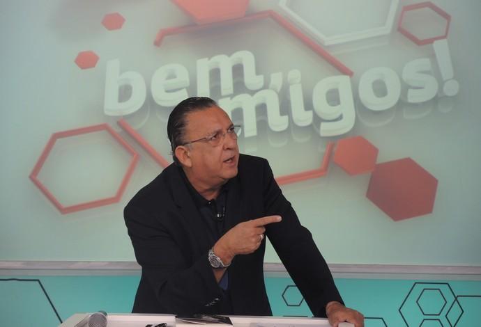 Galvão Bueno Bem, Amigos (Foto: David Abramvezt)