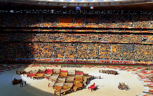 cerimônia abertura da copa do mundo 2010 (Foto: agência Getty Images)