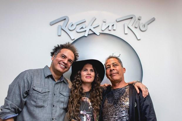 Zé Ricardo, Ana Cañas e Hyldon (Foto: Diego Padilha)