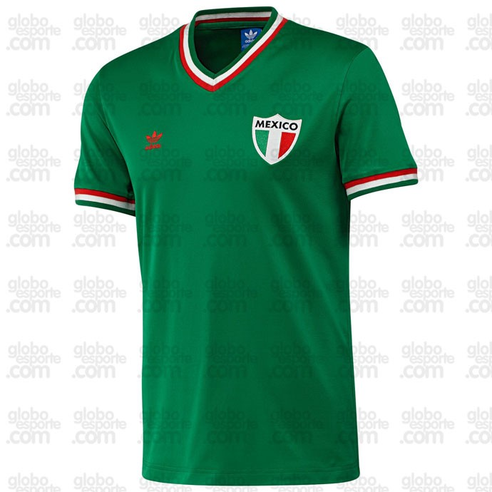 Camisa retrô Mexico