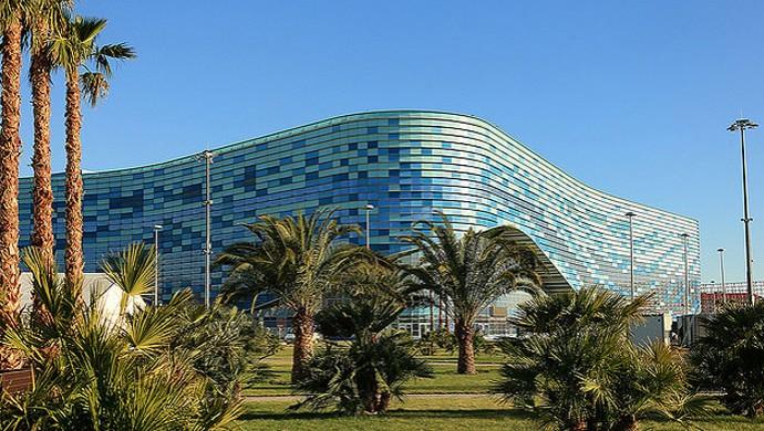 instalações Sochi 2014 Olimpíadas de Inverno (Foto: Site Oficial / Sochi 2014)