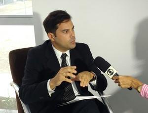 Treze, patente, registro, advogado, Luís Artur (Foto: Divulgação / Treze)