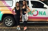 Confira as fotos do dia de gravação com a blogueira Drika (Nágila Moraes)