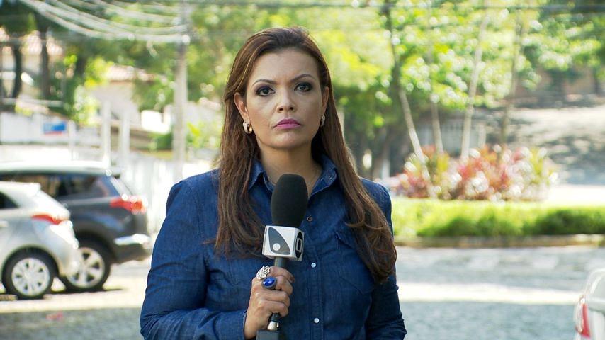 Camila Domingues comanda a matéria (Foto: Divulgação/ TV Gazeta)