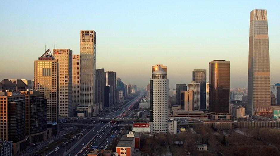 Pequim, na China: possibilidade de crise no setor imobiliário (Foto: Kentaro Iemoto/Wikimedia/Creative Commons)