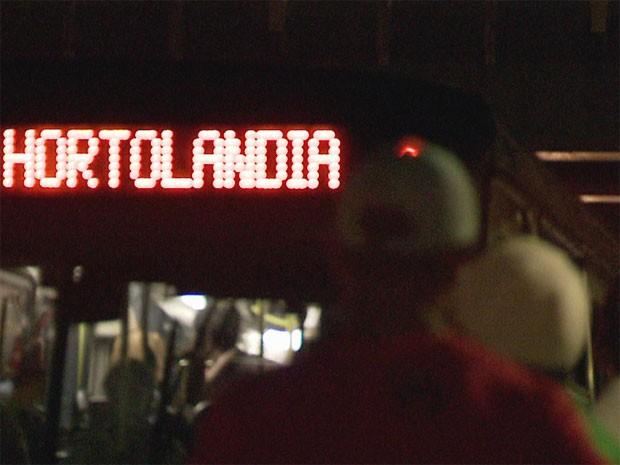 Ônibus de Hortolândia muda trajeto para evitar assaltos e atos de violência contra motoristas e cobradores (Foto: Reprodução/ EPTV)