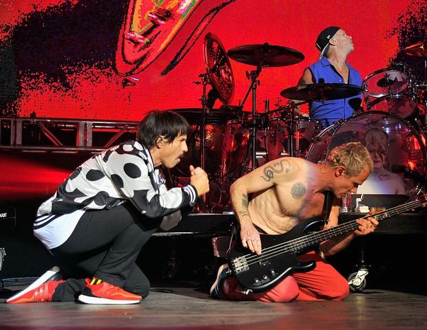Diferentões: Red Hot Chilli Peppers apresenta novo single (Foto: Getty Images)