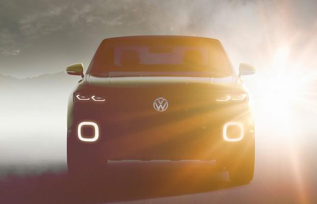 Volkswagen divulga teaser de conceito de novo SUV.jpg (Foto: Divulgação)