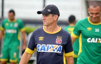 Para afastar tensão, Vasco encara Paraná em jogo considerado crucial