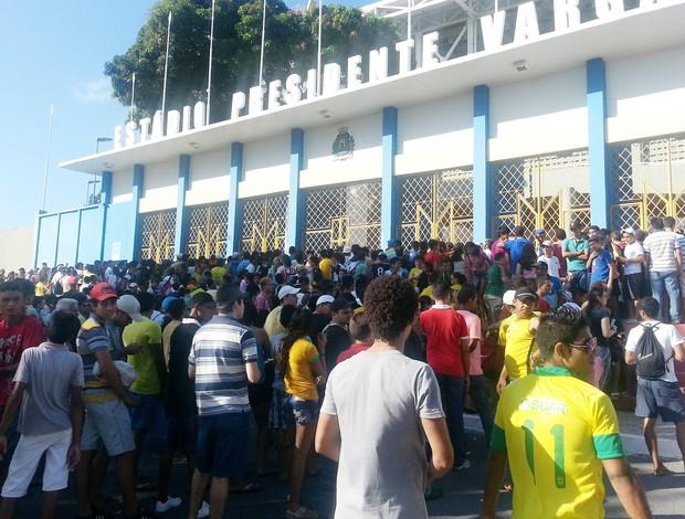 seleção brasileira torcida treino (Foto: Richard Souza)