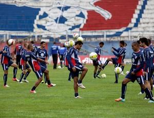Treino do Guaratinguetá no estádio Dario Rodrigues Leite (Foto: Comunicação Guaratinguetá Futebol/ Divulgação)