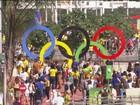 JN acompanha torcedores a caminho do Parque Olímpico
