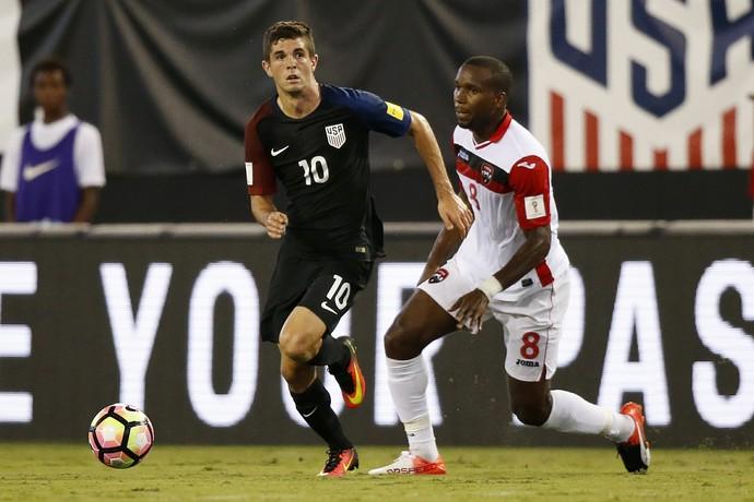 Christian Pulisic Estados Unidos x Trinidad e Tobago (Foto: Reuters)