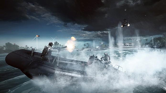 Veículos são o alvo da vez na nova Community Mission de Battlefield 4 (Foto: Divulgação)