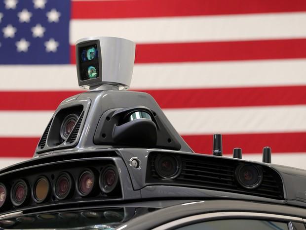 Carro autônomo do Uber (Foto: Aaron Josefczyk/Reuters)
