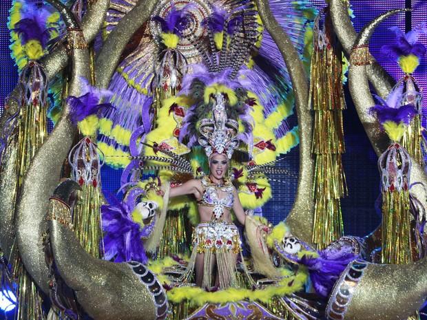 Celebrações do carnaval em Tenerife vão até o dia 8 de março (Foto: Desiree Martin/AFP)