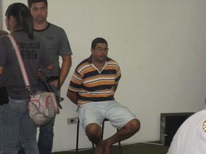 Marco Antônio Titoneli é o último preso da quadrilha que matou o vereador eleito Lúcio do Nevada (Foto: Alba Valéria Mendonça/G1)