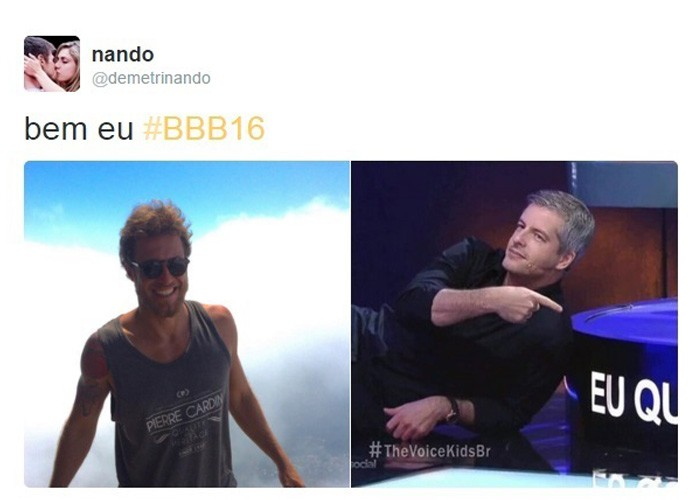 Meme Daniel, BBB16 (Foto: Reprodução Internet)