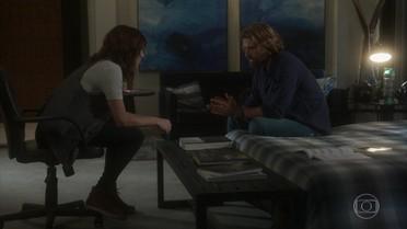 Pedro e Ana conversam sobre Fausto
