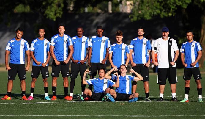 Santos Sub-20 (Foto: Pedro Ernesto Guerra Azevedo/Divulgação Santos FC)