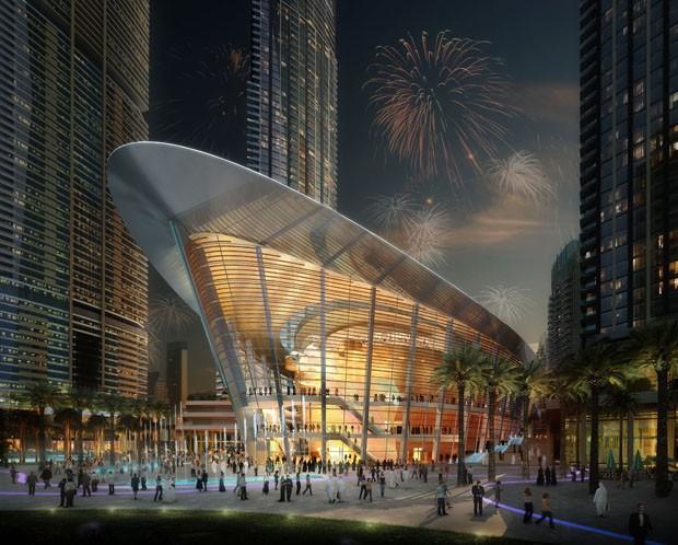 Dubai Opera é projeto de Janus Rostok, do WS Atkins & Partners Overseas (Foto: Divulgação)