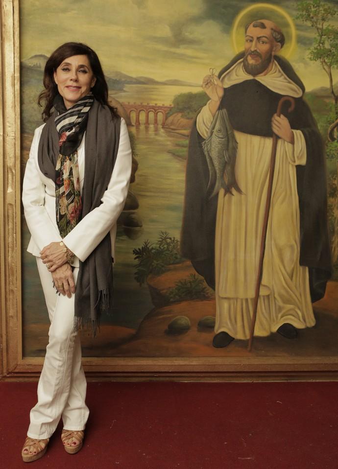 Christiane Torloni exibe sua elegância; ela interpreta a grande mulher Iolanda (Foto: Inácio Moraes/ Gshow)