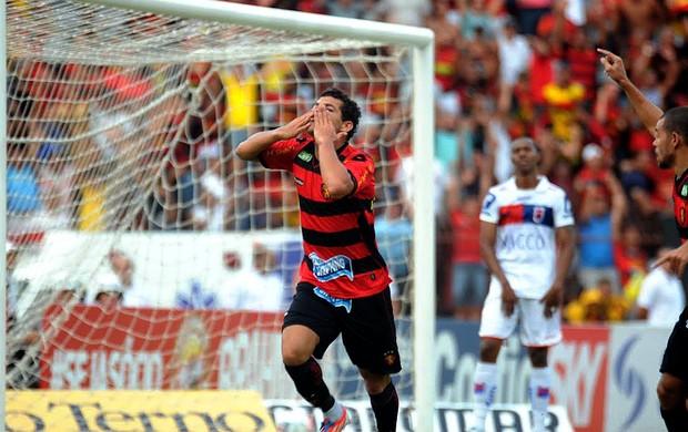 Sport x Paraná - gol de camilo (Foto: Aldo Carneiro/ Pernambuco Press)