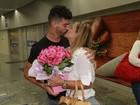 Viviane Araújo se emociona com homenagem no dia do seu aniversário