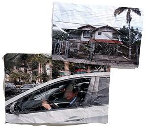 EFÊMERO Cid Gomes na Câmara (acima) e a casa alugada pelo governo cearense em Brasília. Ele foi um ministro sem deixar a política regional  (Foto: Sérgio Lima/Folhapress e Adriano Machado/ÉPOCA(2))