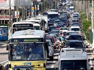 Interdição acontecerá na avenida Salgado Filho, em Natal (Foto: Canindé Soares)