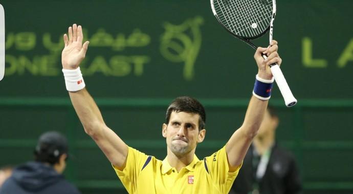 Djokovic bate Mayer e avança à semifinal em Doha (Foto: Reprodução/Facebook)