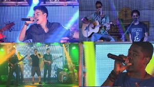 Bandas voltam a competição (Foto: TV Sergipe)