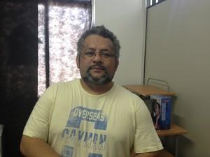 Coordenador da Associação Essência, Elias Sampaio (Foto: Cassio Albuquerque/G1)
