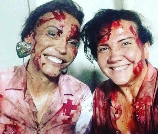 Luisa Marilac se destacou nas produções de terror do direitor Beto Ribeiro (Foto: Arquivo Pessoal)