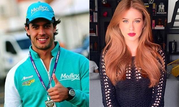 Alexandre Sarnes Negrão e Marina Ruy Barbosa (Foto: Claudio Andrade e Thyago Andrade / FotoRioNews - Instagram )