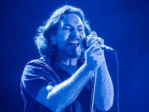 Pearl Jam no Lollapalooza (Foto: Flavio Moraes/G1)
