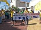 Manifestantes fazem protestos na região de Itapetininga